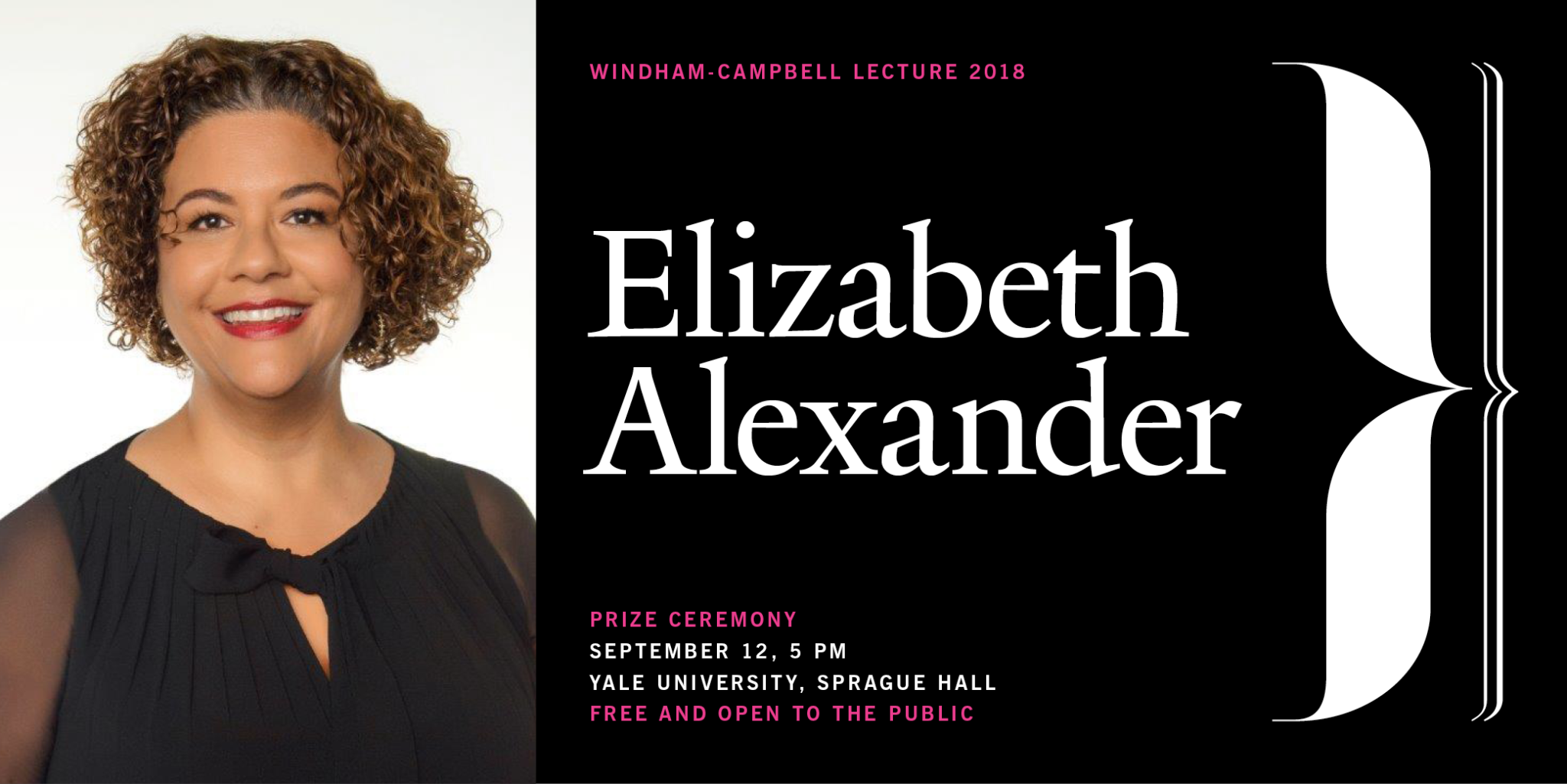 "Watch Elizabeth Alexander deliver the 2018 ""Why I Write"" lecture"